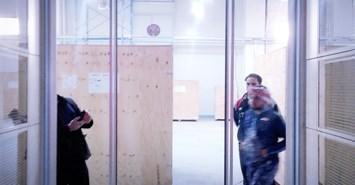 endustriyel otomatik cam kapi