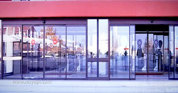 kurumsal otomatik cam kapi
