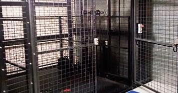 kafesli yuk asansoru