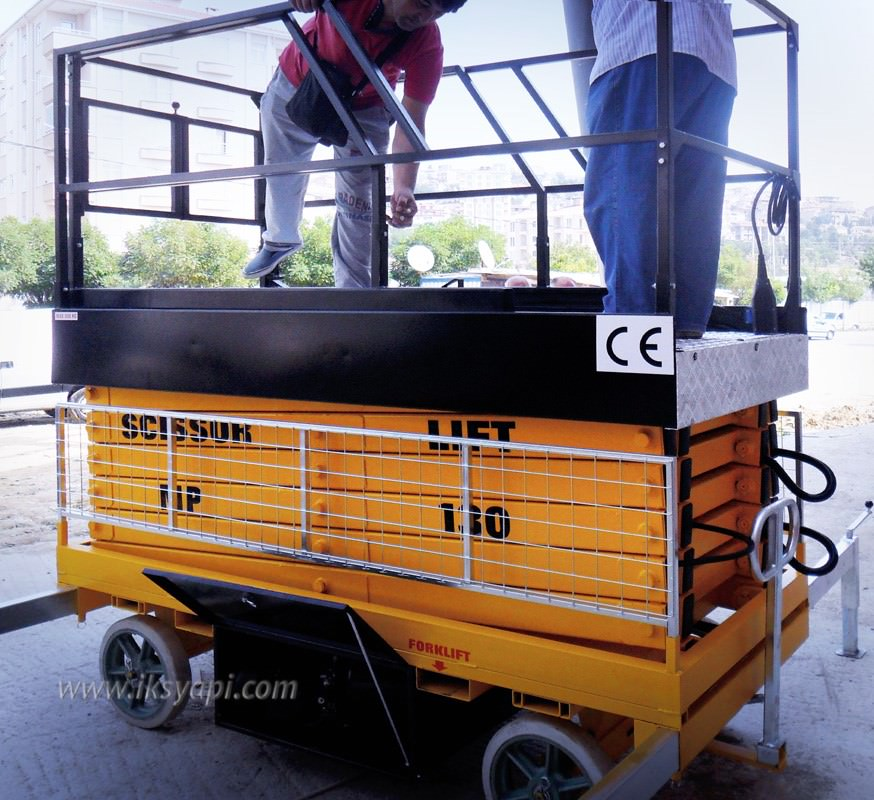 mobil lift platformu