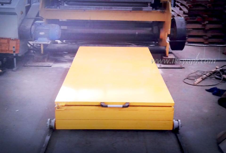 tekerlekli platform