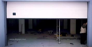 kumandali seksiyonel garaj kapisi