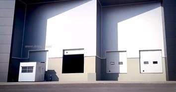 yukleme istasyonu seksiyonel kapi